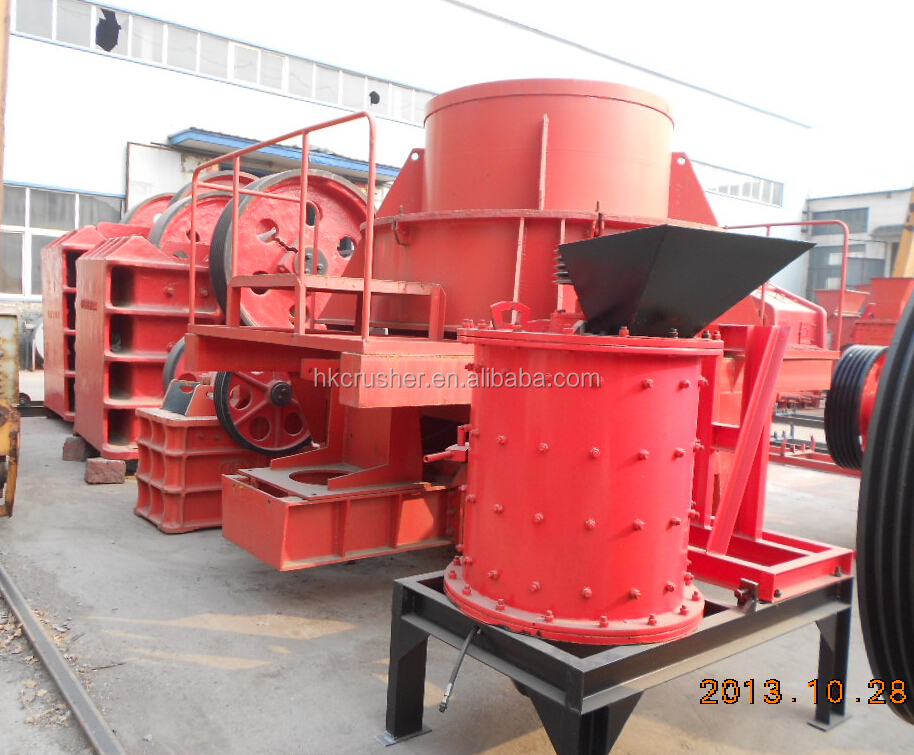 Diesel Engine Vertical Crusher