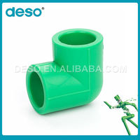 China Manufacture Export quick connection elbow ppr pipe fittings