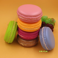 Hotsell fake macaron artificial PU cake simulate macaron design for decoration