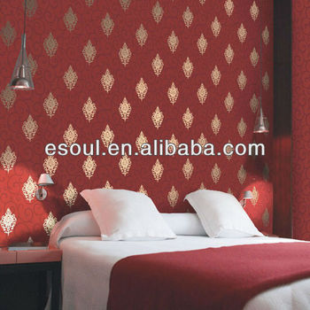 Hot sale KTV PVC wallpaper