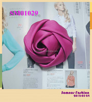 Fashion Rose Flower Brooch Online Shopping India