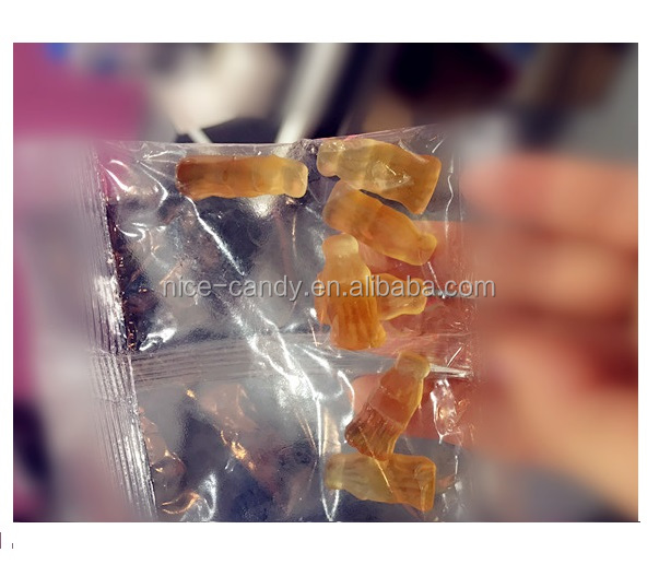 Halal Cola gummy cola bottle candies sweet gummi jelly candy