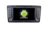 Quad core!car dvd with mirror link/DVR/TPMS/OBD2 for 7inch touch screen quad core 4.4 Android system VW SKODA OCTAVIA