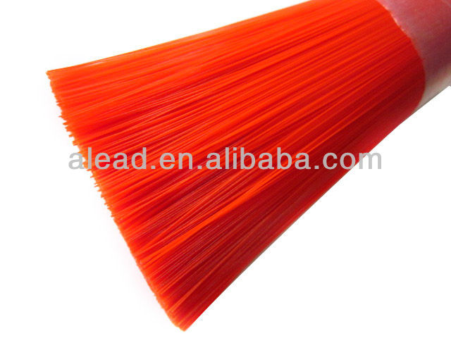 Shiny color stiff PVC fiber for making broom