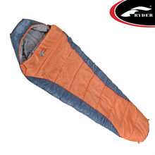 Two Layer Hollow Fibre Compact Disposable Sleeping Bag Camping