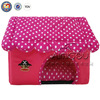 QQ04 Red Shaped House Wholesale Memory Foam Pet House