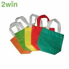 Printing Promotional Customized Colorful Supermarket Folding Non-Woven Shopping Bags