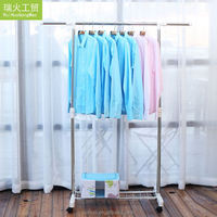 Factory direct sale custom design hanging clothes rack wall mounted airer