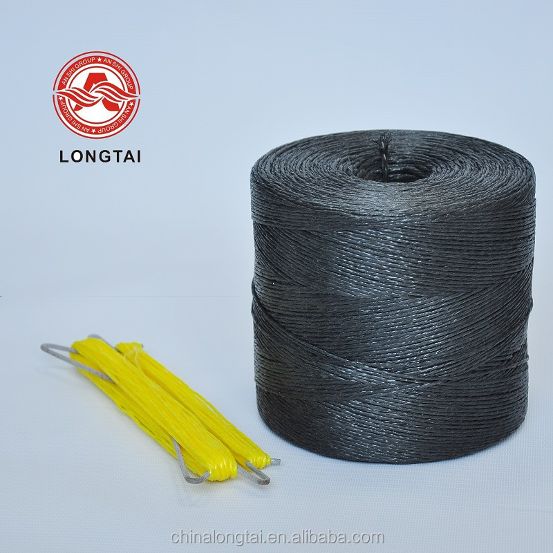 1 ply Fibrillated UV-anti twisted PP rope for packing