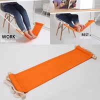 Mini Foot Hammock Desk Hammock office sitting rest foot tools