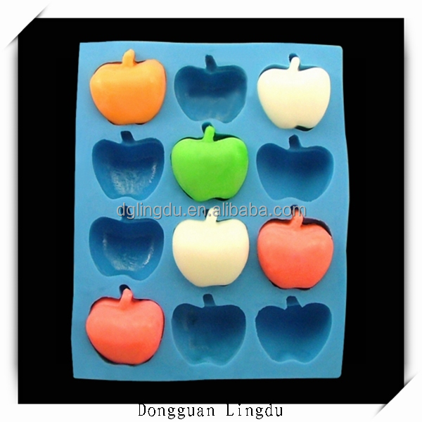 Design your own silicone mold for soap make fruit shaped