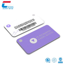 Customizd HF 13.56MHz ISO14443A NFC MIFARE Ultralight C Entrance Guard Epoxy RFID smart CARD