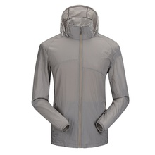 Men Lightweight UV Protect+Quick Dry Windproof clothes packable jacket