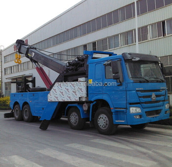 HOWO 8X4 30ton Wrecker Towing Truck For sale
