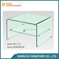 Hot bending glass coffee table / living room center table
