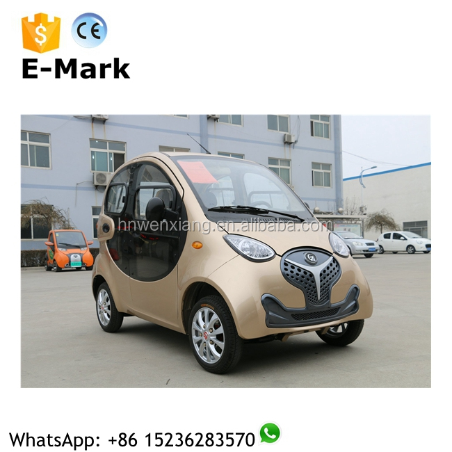 China cheap electric vehicle 4-wheel 4 door 4 seater electric cheap cars on sale