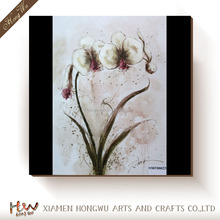 Handmade oil painting pictures of flowers patterns