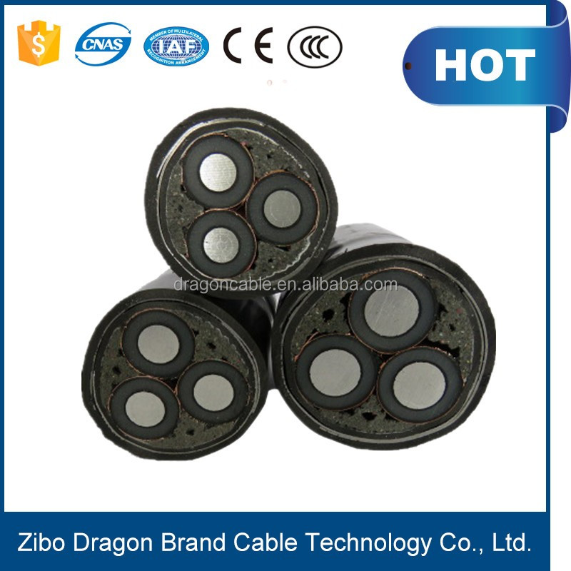 Oil well cable and Gas field Logging armoured cable suppliers zibo