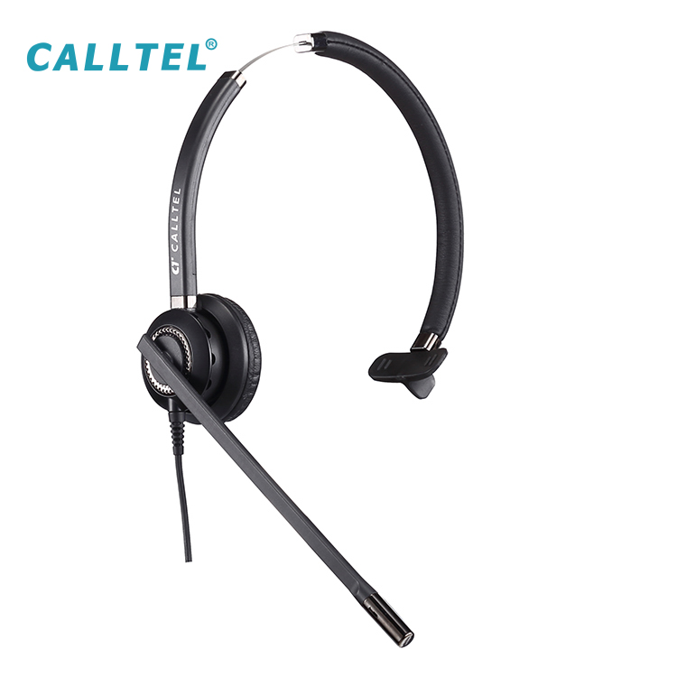 Wholesale wired headband call center headphone with microphone