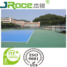 Volleyball court badminton court pvc pu sports flooring
