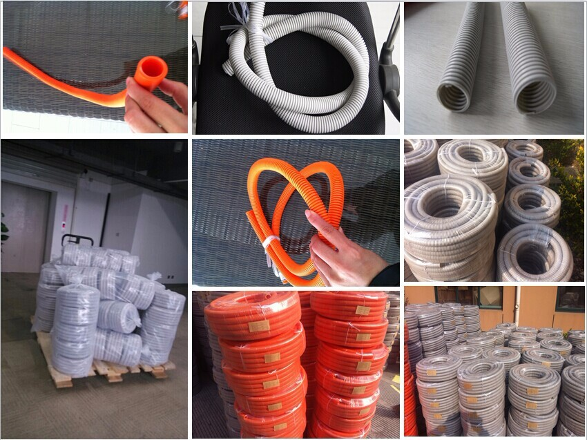 Australia Grey corrugated decorative electrical pvc conduit pipe price list