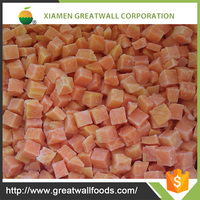 Chinese frozen sweet potato dices