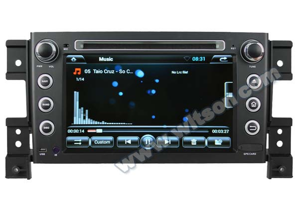 WITSON ANDROID 4.2 SPECIAL CAR DVD FOR SUZUKI GRAND VITARA WITH A9 CHIPSET 1080P