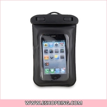 Diving Waterproof Pouch Case Bag with Waterproof Earphone for iphone iPod Touch