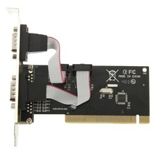 PCI to Serial 2-port Host Controller Card