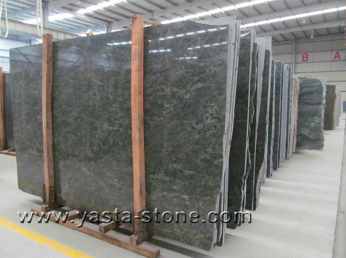 High Quality Cheap Tropical Green Granite Slab