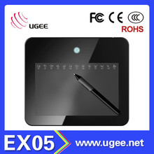 8 inch active area art graphics drawing writing tablet pad for PC laptop