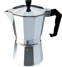 Wholesale Professional Style 6 Cups Polished Aluminum Stove-top Espresso Coffee Maker