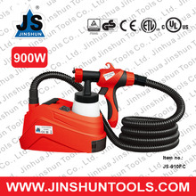JS 2014 Electric HVLP Air Spray Paint Gun System Tools 900Watts 1 Liter Tank Sprayer JS-910FC