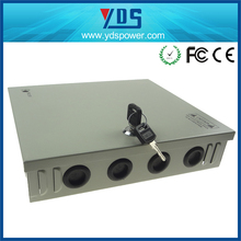 Shenzhen top supplier!!! High quality 9ch cctv power supply box swithing power 12v 60w 9CH adjustable dc switch power supplies
