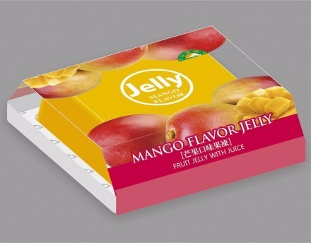 Sweet Mountain - ISO HACCP gelatin mango flavor pudding jelly for afternoon tea