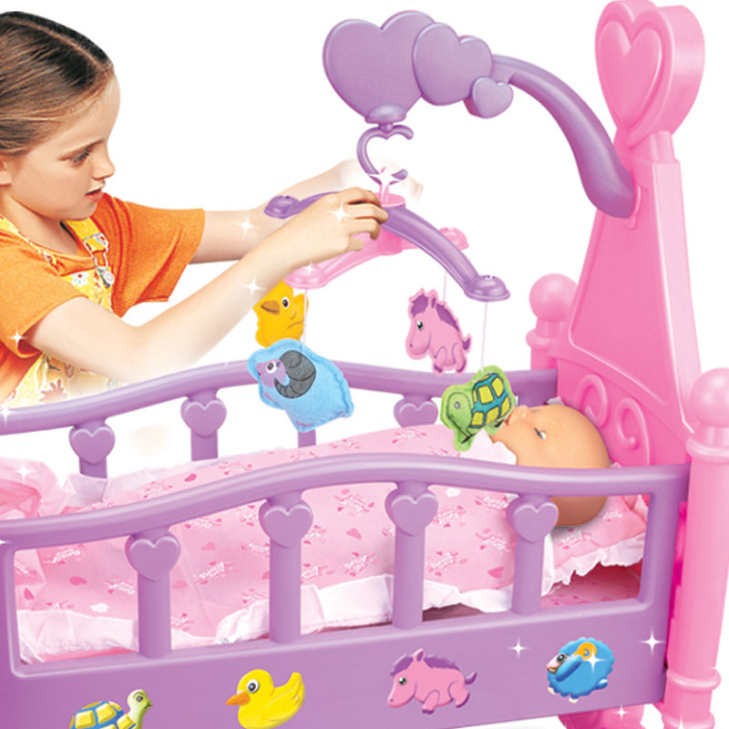 babyAmerican Like Hot Sells Small Baby Bed Crib Toy