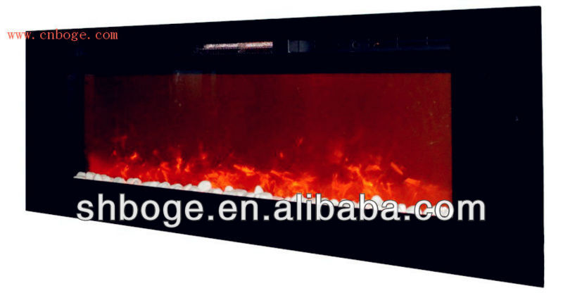 big new wall mounted / insert luxury electric fireplace