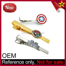 Customized Captain America Superhero Bar Clasp Tie Clip