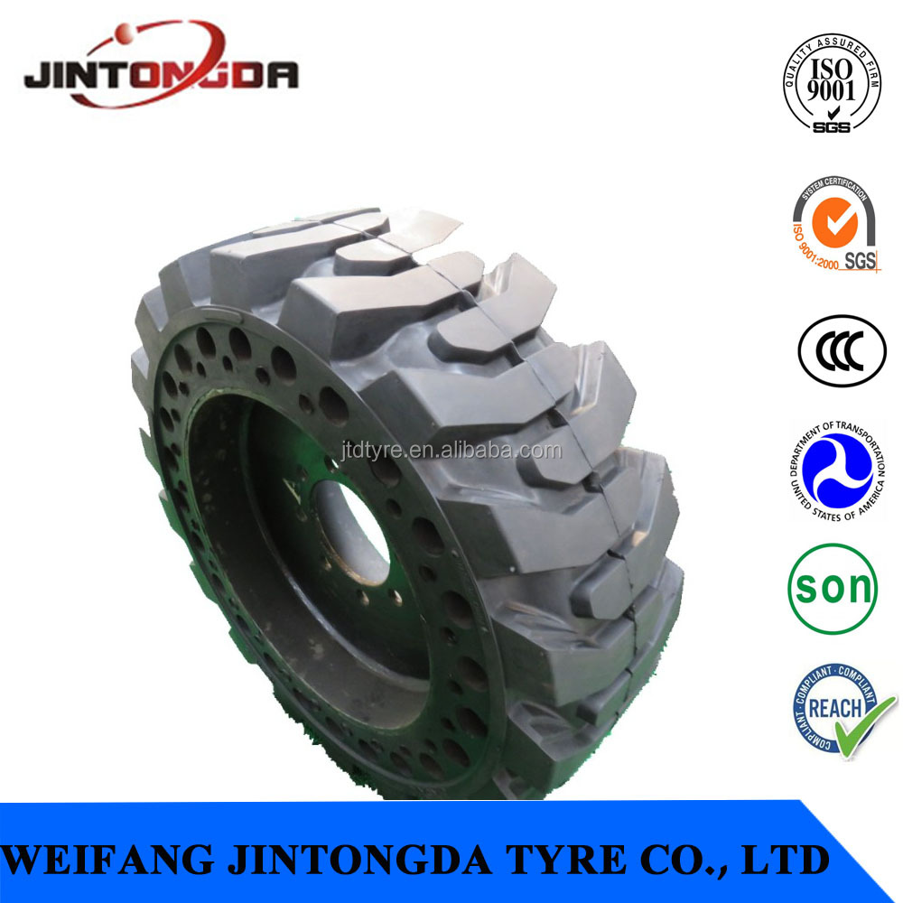 Skidsteer Tire 10-16.5 Solid Bobcat Tire 2017 Hot selling Tire