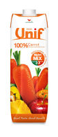 100% Carrot with Mixed Vegetable and Fruit Juice