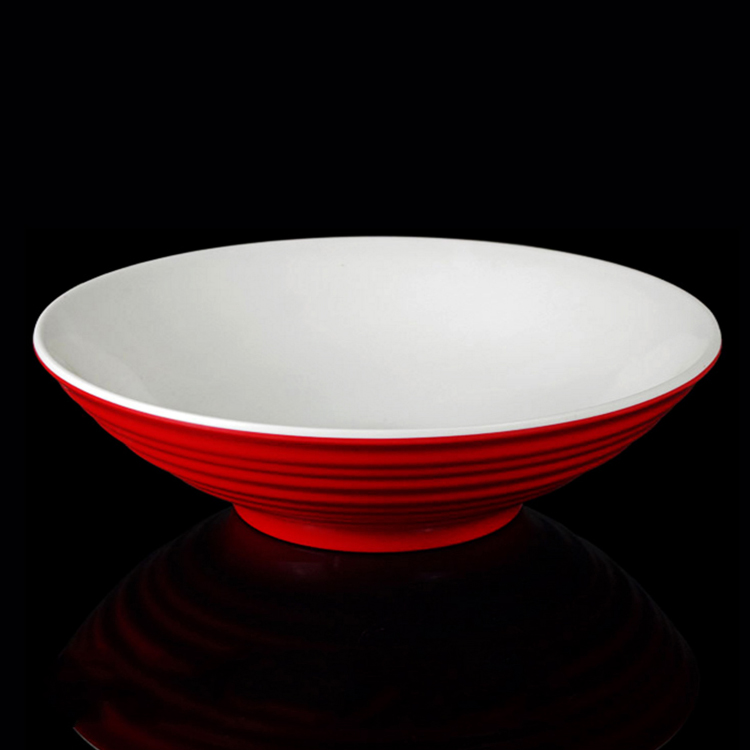 Non-Poisonous And Tastless Casinos Melamine Soup Bowl