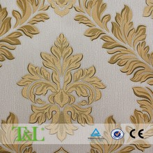 European style 3d wallpaper for home decoration