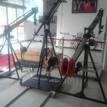 Extendable 3m jib crane for video camera for small HD camera