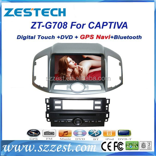 ZESTECH touch screen car dvd player for Chevrolet Captiva with 7 inch touch screen car gps for Chevrolet