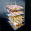 High Quality Acrylic Bread Display Shelf