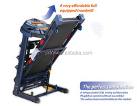 KW-509B Popular portable electronic pulse star motorized commercial treadmill