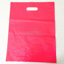 cheap shopping die cut handle plastic bag wholesale