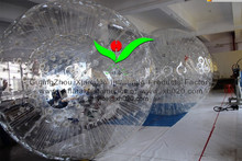2015 UV-Resistant PVC or TPU inflatable human zorb ball game
