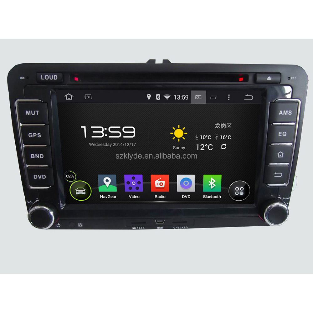 "Nand Flash 16 GB Capacitive multi-touch screen 1.6GHz Main Frenqency car stereo for 7"" JETTA/SKODA/SEAT/ CC/POLO/Golf 5/Golf 6"