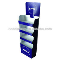 High Quality Low Price Cardboard Display Stand For Skin Care Product